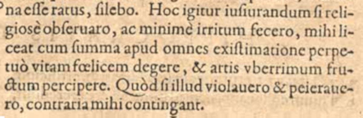 Hippocratis jusiurandum